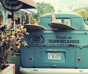 surf, summer, and car image