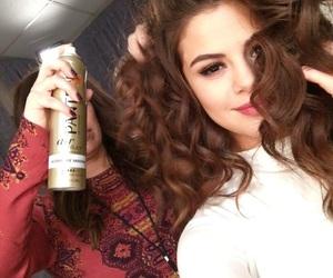 selena gomez, hair, and revival image