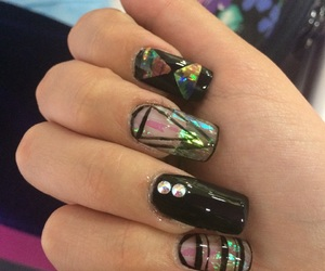 acrilic, nails, and uñas image