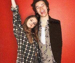 harlena, selena gomez, and Harry Styles image