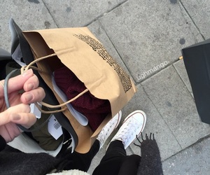shopping, american apparel, and girl image