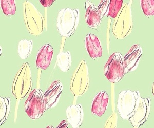 background, wallpapers, and tulips image