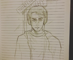 fanart, serie, and 13 reasons why image
