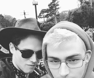13 reasons why, miles heizer, and brandon flynn image