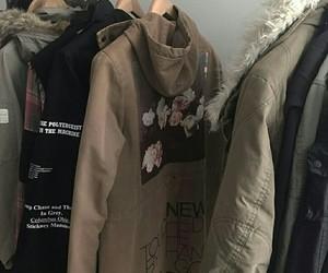 grunge, style, and coat image