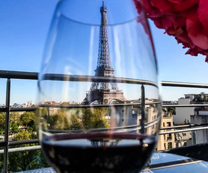 paris, wine, and france image