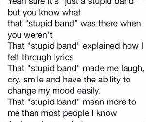 band and stupid image