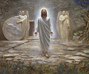 jesus and resurrection image