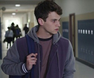 justin foley, 13 reasons why, and brandon flynn image