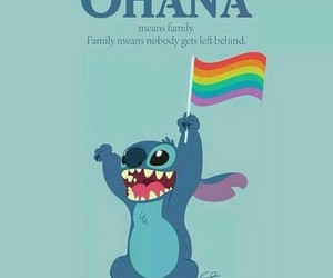 homosexual, peace, and stitch image
