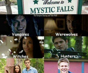 tvd, matt donovan, and Witches image