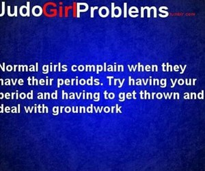 girls, judo, and problem image