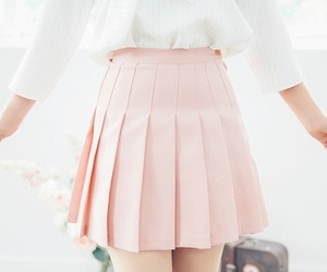 asian, korean, and skirt image