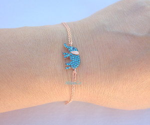 charm bracelets, turquoise bracelet, and animal necklace image