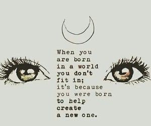 quotes, world, and eyes image