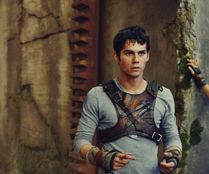 maze runner and dylan o´brien image