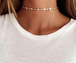 fashion, choker, and style image