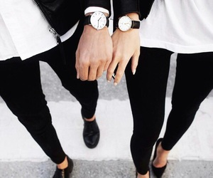 black, fashion, and goals image