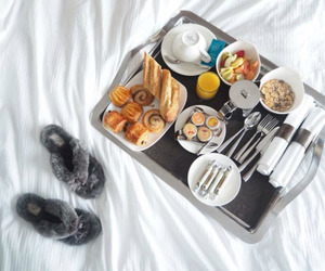 breakfast, snack, and yummy image
