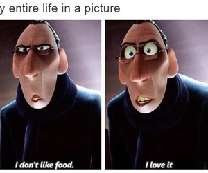 food, funny, and ratatouille image