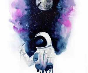 alternative, art, and astronaut image