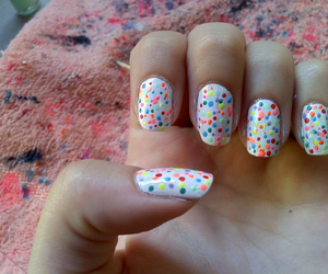 color, funny, and nail image