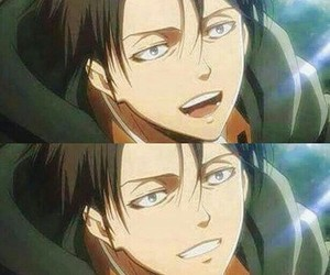 attack on titan and levi ackerman image
