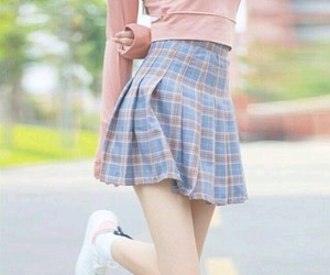 fashion, kfashion, and skirt image