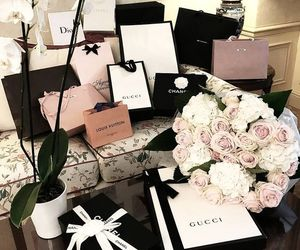 luxury, gucci, and shopping image
