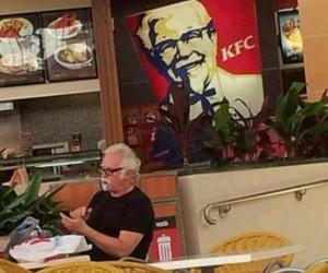Chicken, fast-food, and KFC image