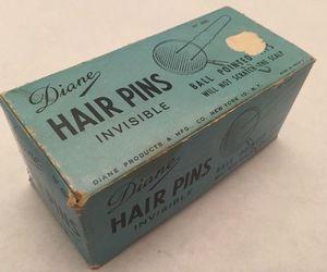 bobby pins, hair, and old image
