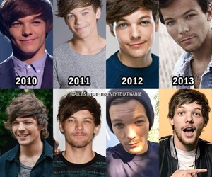 louis tomlinson and onedirection image