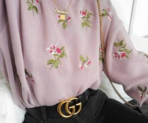 accessoires, fleur, and mode image
