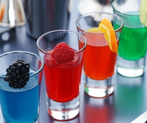 Shots, fruit, and party image