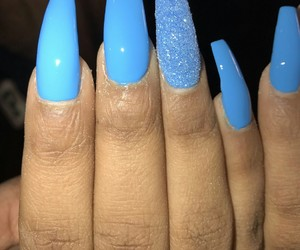 colour, girls, and nails image