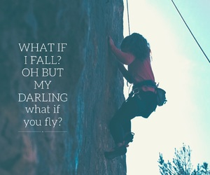 climbing, easel, and motivational image