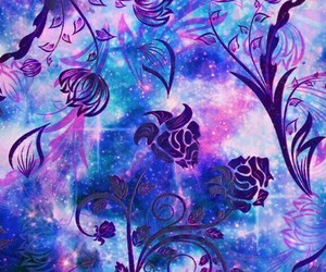 floral, graphic design, and backgrounds image