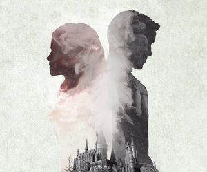 harry potter, hermione granger, and love image