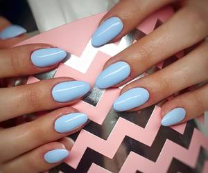 blue, indigo, and manicure image