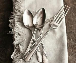 farmhouse, silverware, and home decor image