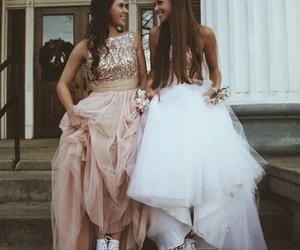 dress, friends, and bff image