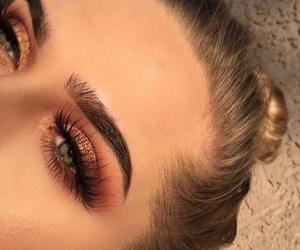 eyebrows, girl, and inspo image