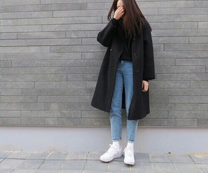 outfit, tumblr, and style image