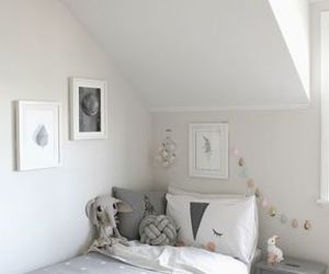 baby, bedroom, and grey image