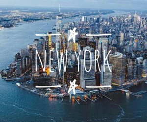 america, new york, and travel image