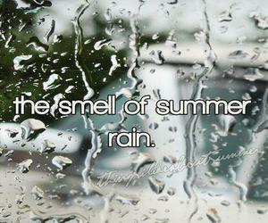 rain, summer, and quote image