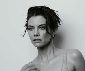 the walking dead, my bby, and lauren cohan image