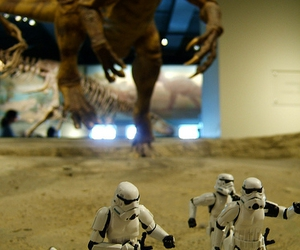 action figure, chase, and dinosaur image