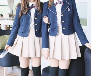 uniform and cute image