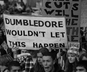 dumbledore, harry potter, and funny image